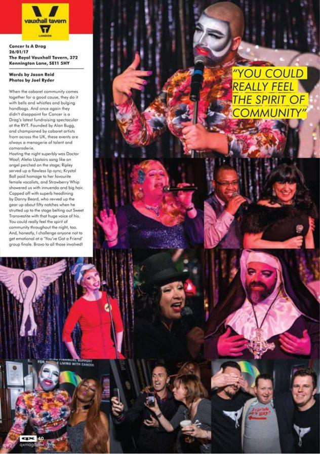 QX Magazine, January 2017