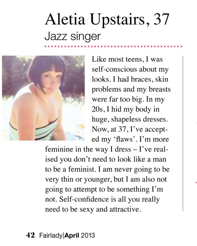 Fair Lady Magazine, April 2013